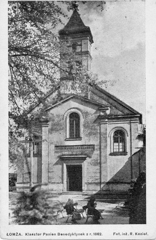 Kościół św Trójcy w okresie między wojennym. Foto R. KozioŁ