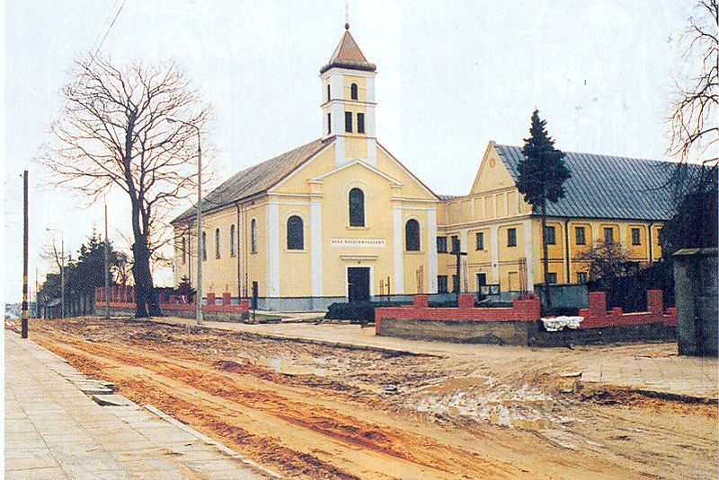 Kościół św. Trójcy w Łomży. Foto. Jacek Malanowski. Foto-Wrzos w Łomży