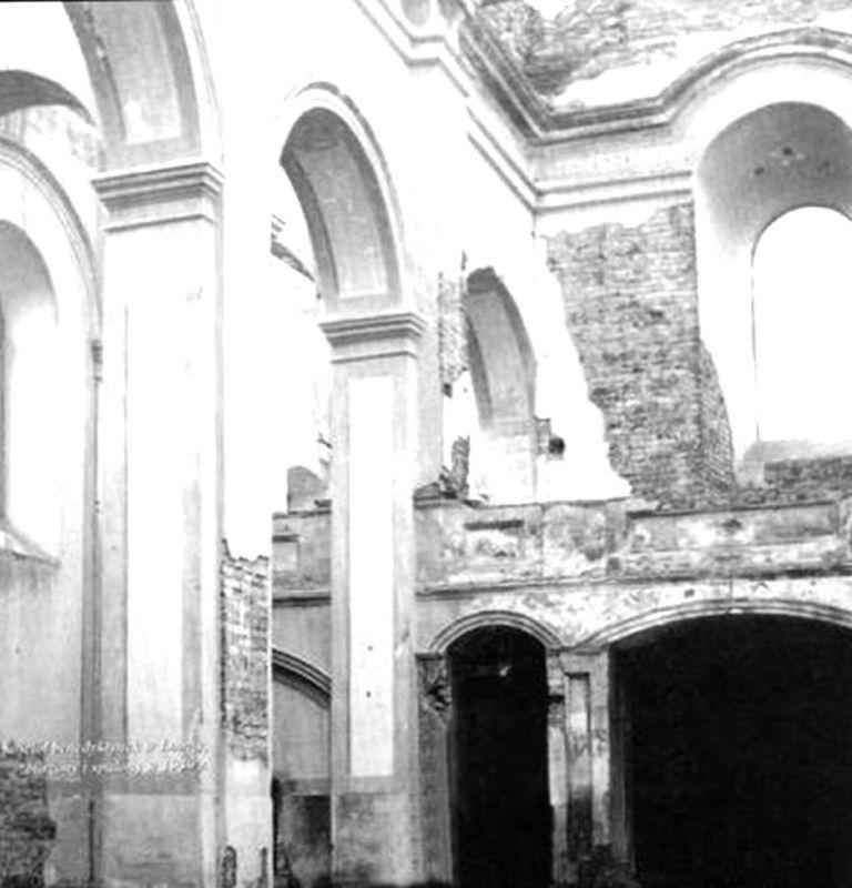 Ruiny kościola św. Trójcy 2