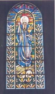 Witraż św. Benedykta