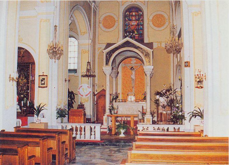 Wnętrze Kościoła św. Trójcy w Łomży. Fot. Jacek Malanowski. Foto-Wrzos w Łomży
