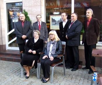 Ławnicy Bractwa oraz zaproszeni goście