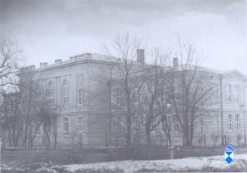 Gimnazjum przy Nowym Rynku, obecnie Plac Kościuszki