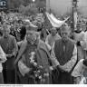 Ingres księży biskupów na uroczystości milenijne do katedry