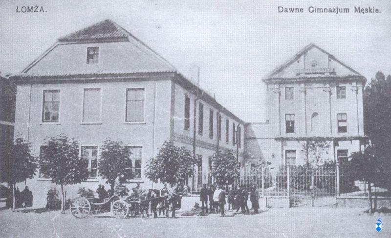 Kolegium pojezuickie, dawne Gimnazjum Męskie, rozebrane w 1898 r