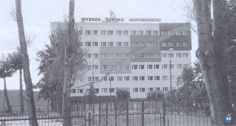 Wyższa Szkoła Agrobiznesu (2005 r.).