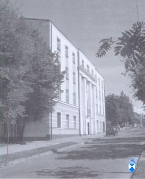 Biblioteka Publiczna od 1956 r. do końca lat 70 - tych przy ul. Sadowej. Dom Katolocki (2005 r.)