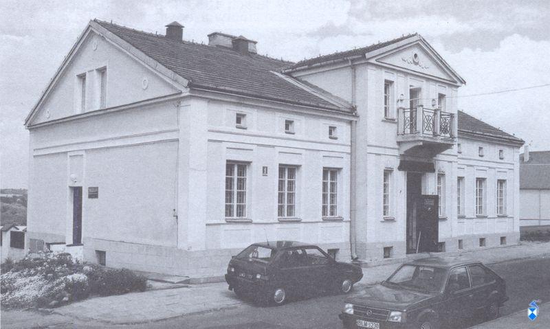 Domek Pastora z końca XIX w. Muzeum Północno-Mazowieckie w latach 1981-2006 (2005r.)