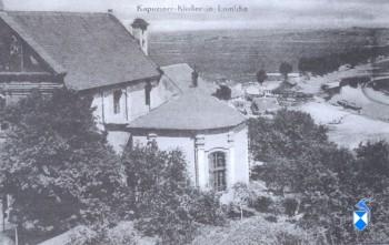 Klasztor Ojców Kapucynów przed 1914 r