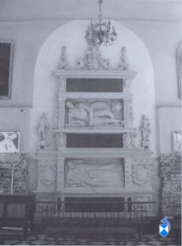 Nagrobek Andrzeja i Elżbiety Modliszewskich z 1589 r. 2005 r.)