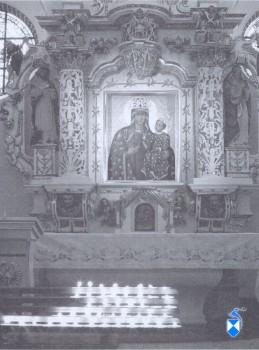 Obraz Matki Boskiej Łomżyńskiej z XVI w. (2005 r.)