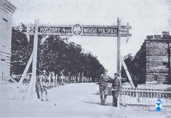 Brama wjazdowa do koszar 1939 r