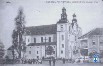 Kościół ewangelicki (jezuicki) zburzony w 1944 r