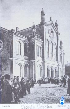 Wielka Synagoga budowana w latach 1878-1889, zburzona w 1939 r.