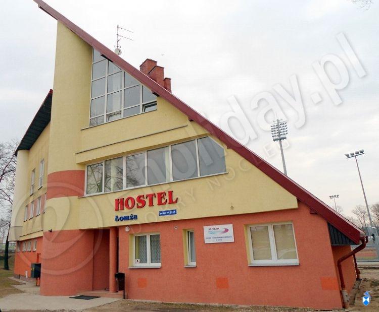 Hostel MOSiR. Miejsce wystawy.