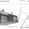 Budynek Stacji Kolejowej. Koziki 1948 rok