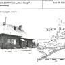 Dworzec kolejowy Stara Stacja Śniadowo. Lata 40 XX wieku