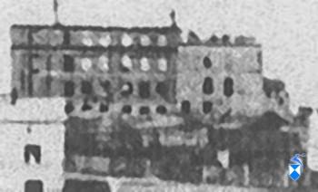 Ruiny budynku z 1944