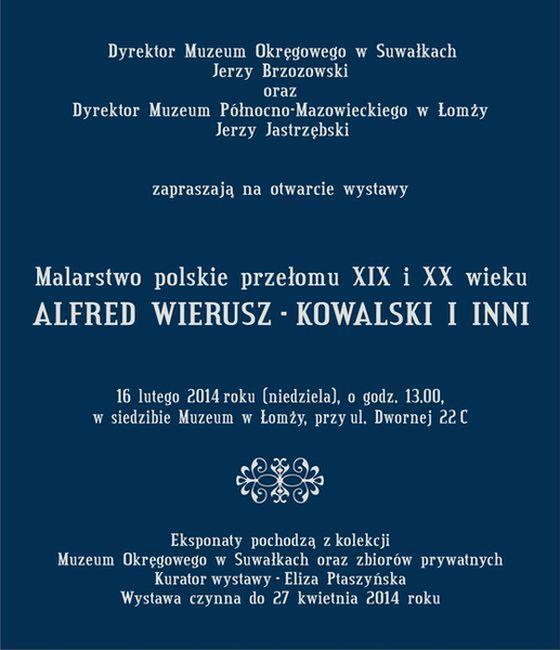 Zaproszenie Malarstwo polskie1