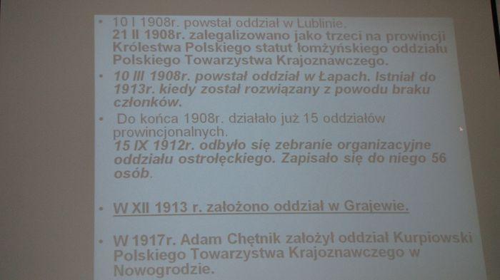 Informacja z wykładu nr 3