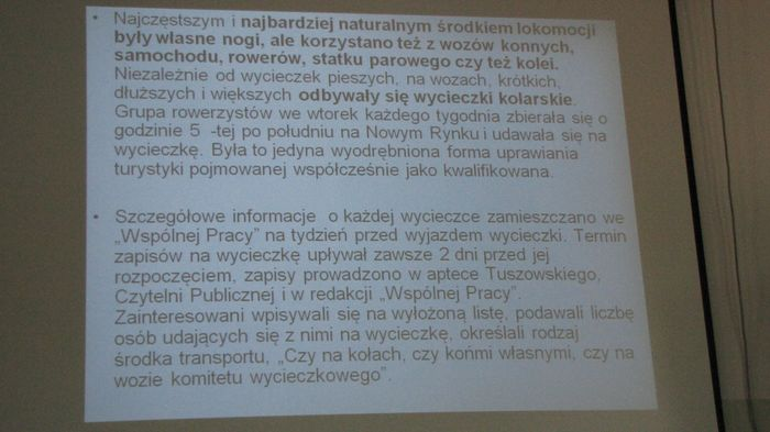 Informacja z wykładu nr 8