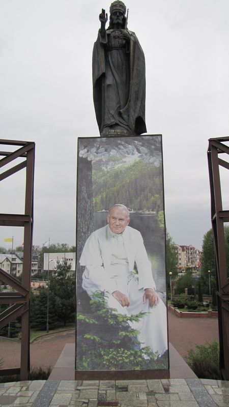 Jan Paweł II i Figura Chrystusa Króla. 2014 rok