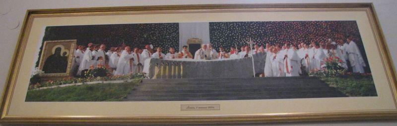 Przy Ołtarzu Papieskim