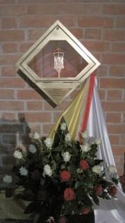 Relikwie JPII w Katedrze