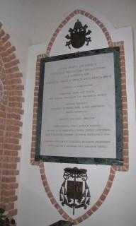 Tablica pamięci JPII w Katedrze