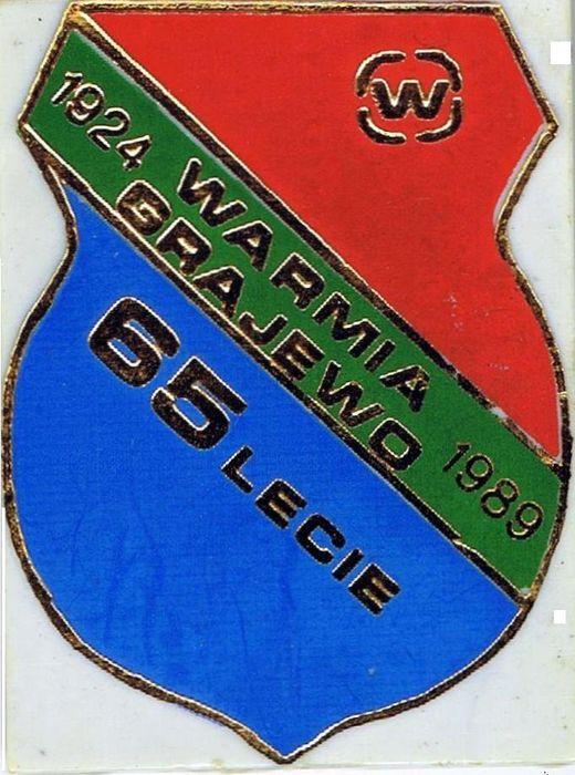 Warmia Grajewo - 65-lecie klubu