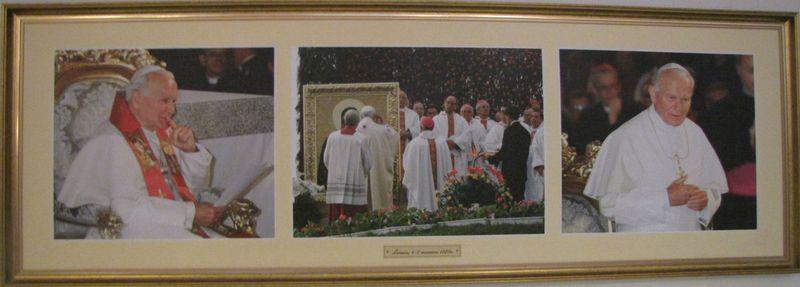 Zdjęcia Papieża z pobytu w Łomży