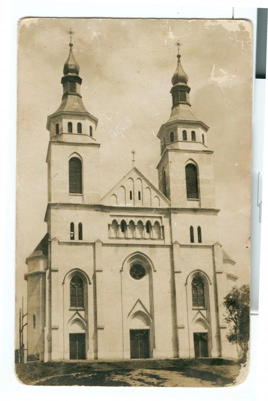 Kościół murowany – widok z 1939 r.