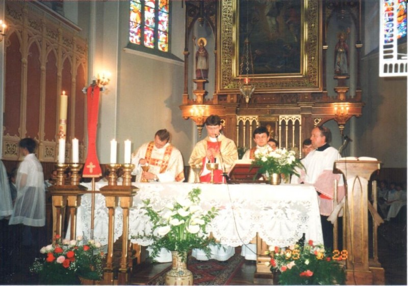 Prymicja ks. Sławomira Śledziewskiego - 28 V 1995 r.