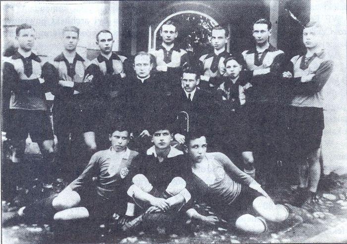 Drużyna piłkarska z Grajewa 19240 - 25. Autor fotografii nieznany