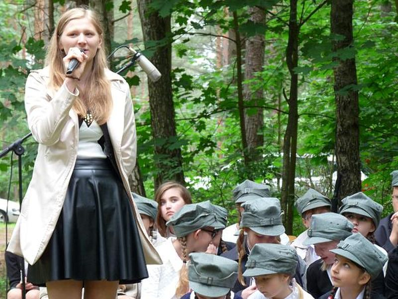 Gimnazjalistka Natalia w poezji patriotycznej