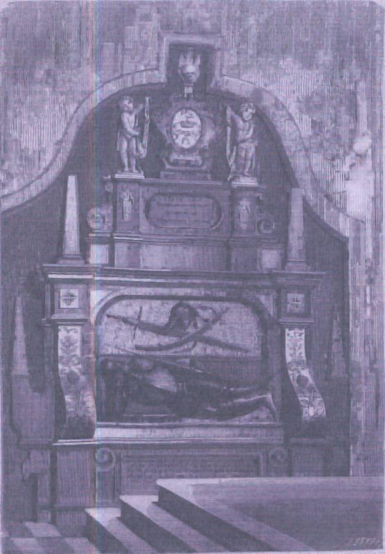 Grobowiec Nikodema Kossakowskiego w kościele farnym w Łomzy