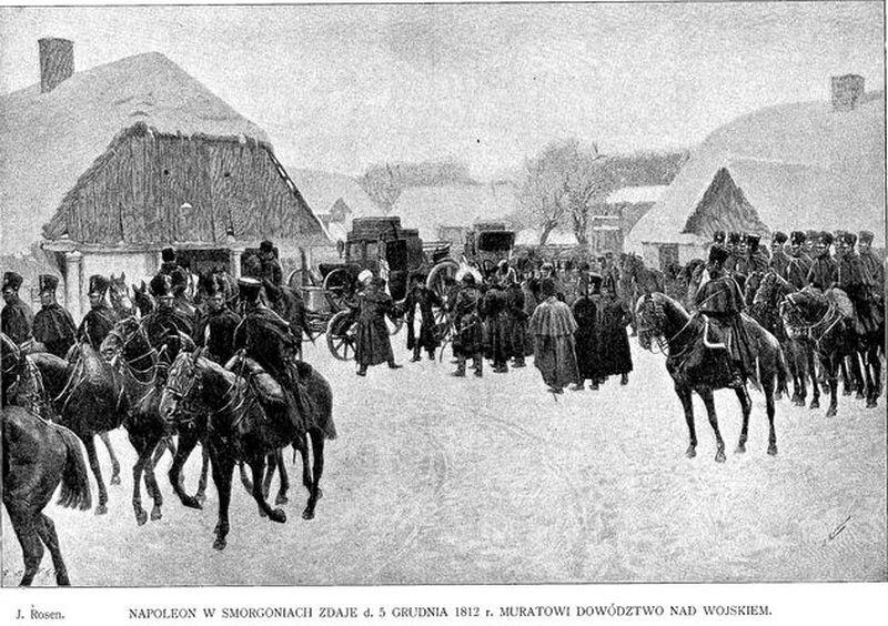 Napoleon w Smorgoniach