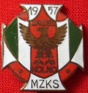 Odznaka klubu Orzeł Kolno