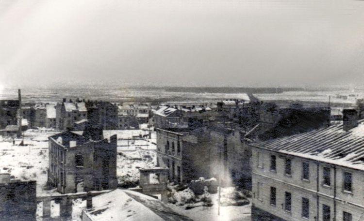 Śródmieście - widok od ul. Krótkiej