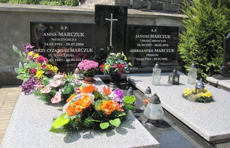 Grób rodziny Marczuk