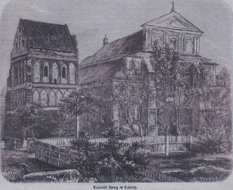 Kościół farny w Łomży