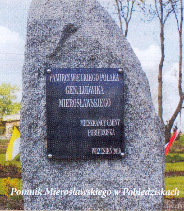 Pomnik Gen. Ludwika Mierosławskiego