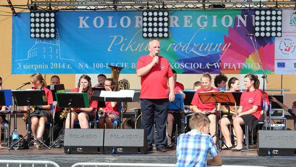 Łomżyńska Orkiestra Dęta z Waldemarem Borusiewiczem