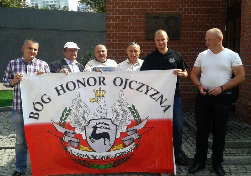 Muzeum Powstania Warszawskiego_władze ŁKMP i Łomżyńskiego Bractwa Historycznego