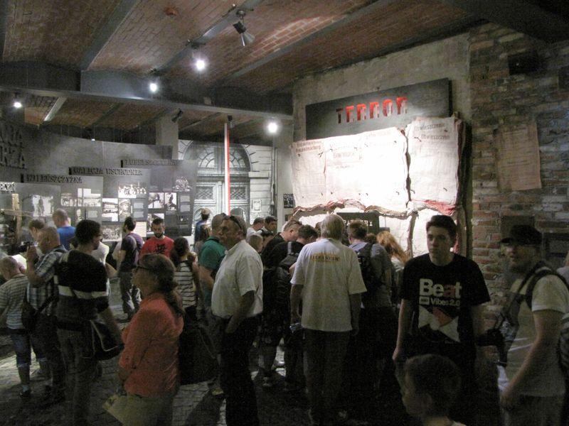 Muzeum Powstania Warszawskiego w środku