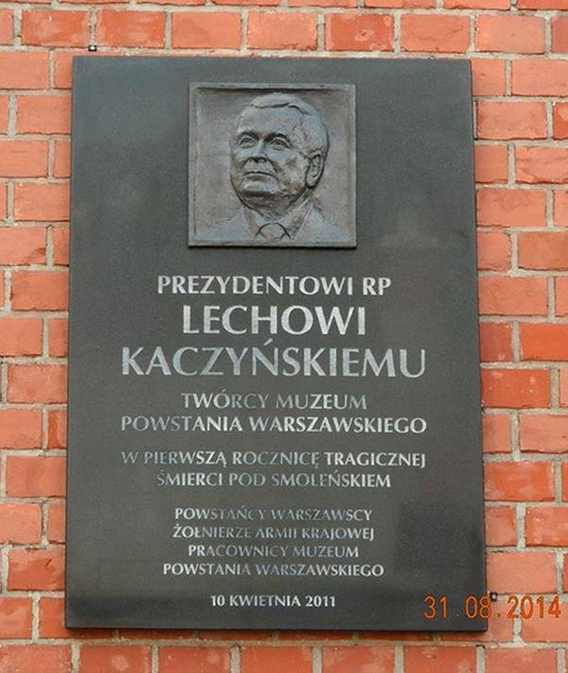 W hołdzie Lechowi Kaczyńskiemu