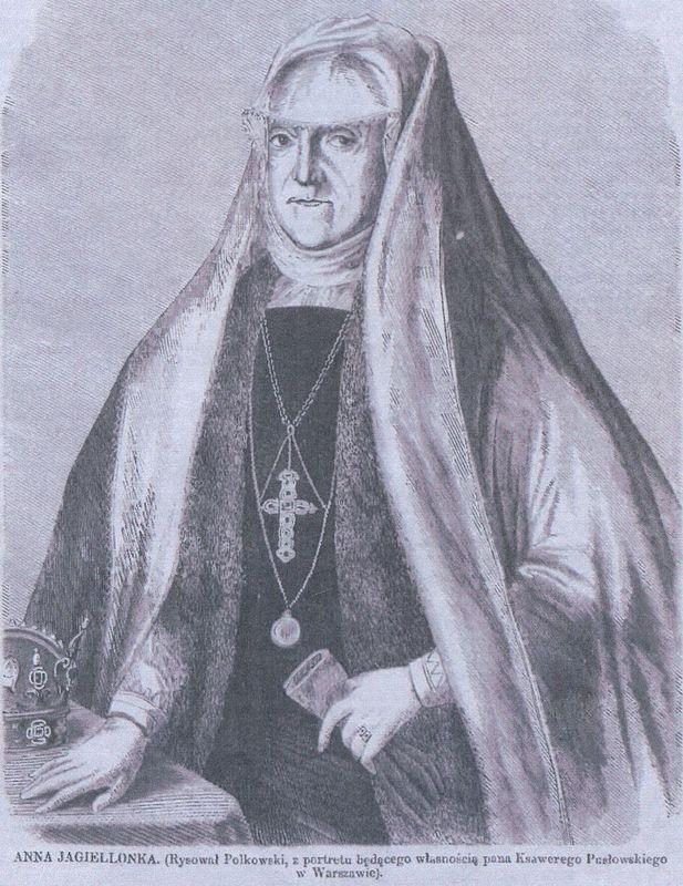 Anna Jagiellonka w stroju wdowy