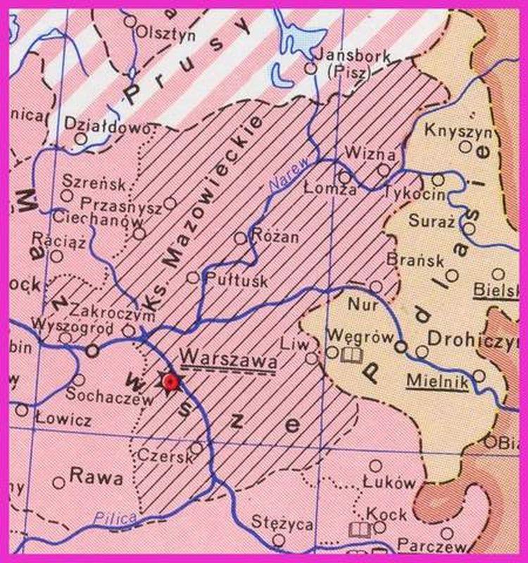 Mazowsze 1526 r