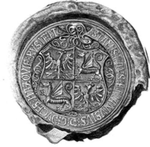 Pieczęć Janusza III i Stanisława mazowieckich