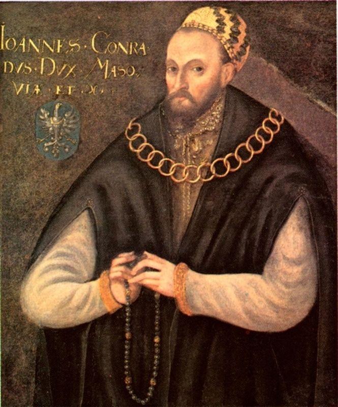 Portret Konrad II, ks. mazowieckiego.  Muzeum w Wilanowie
